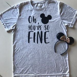 Disney World Shirt and Minnie Mouse Ears